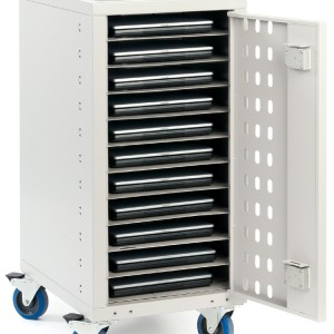 Notebook and Laptop Security Storage Trolleys by pos-security.net