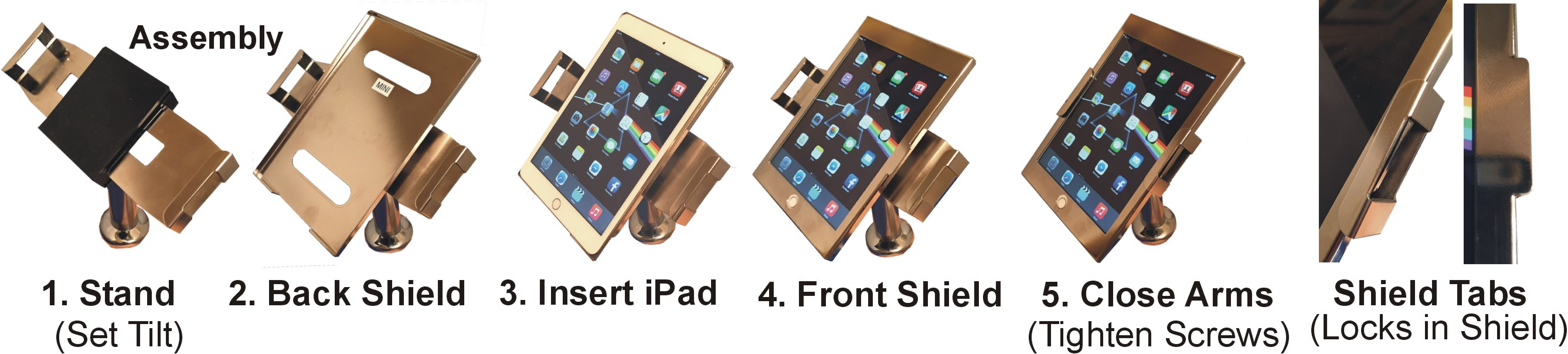 IPad Stand Assembly by pos-security.net