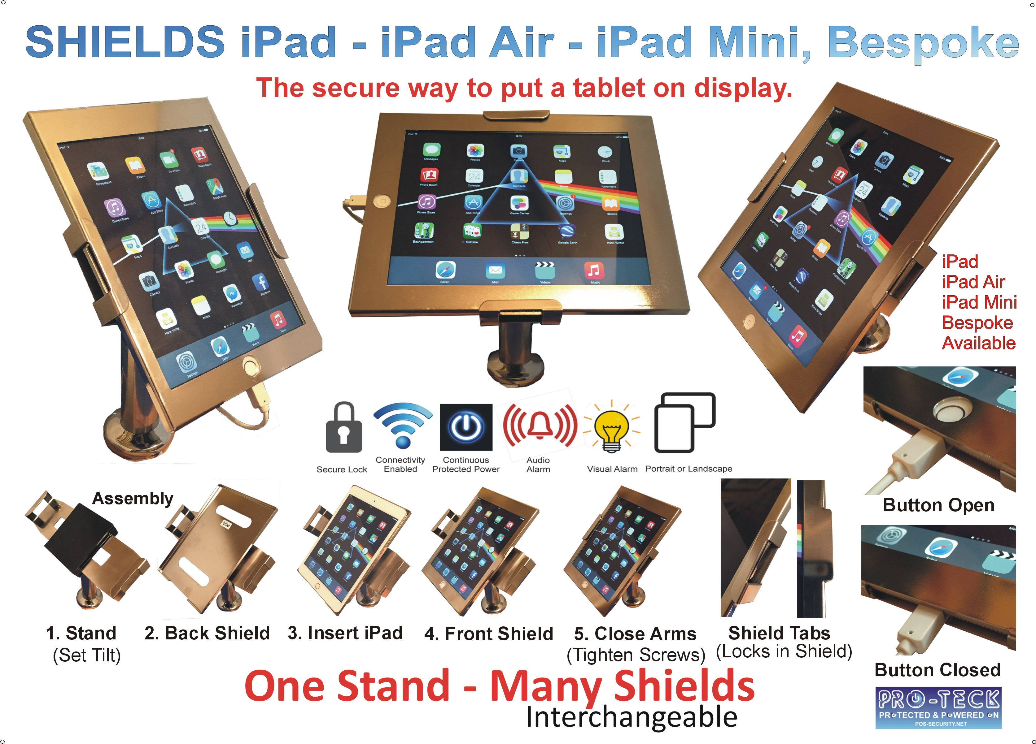 iPad Stand by pos-security.net