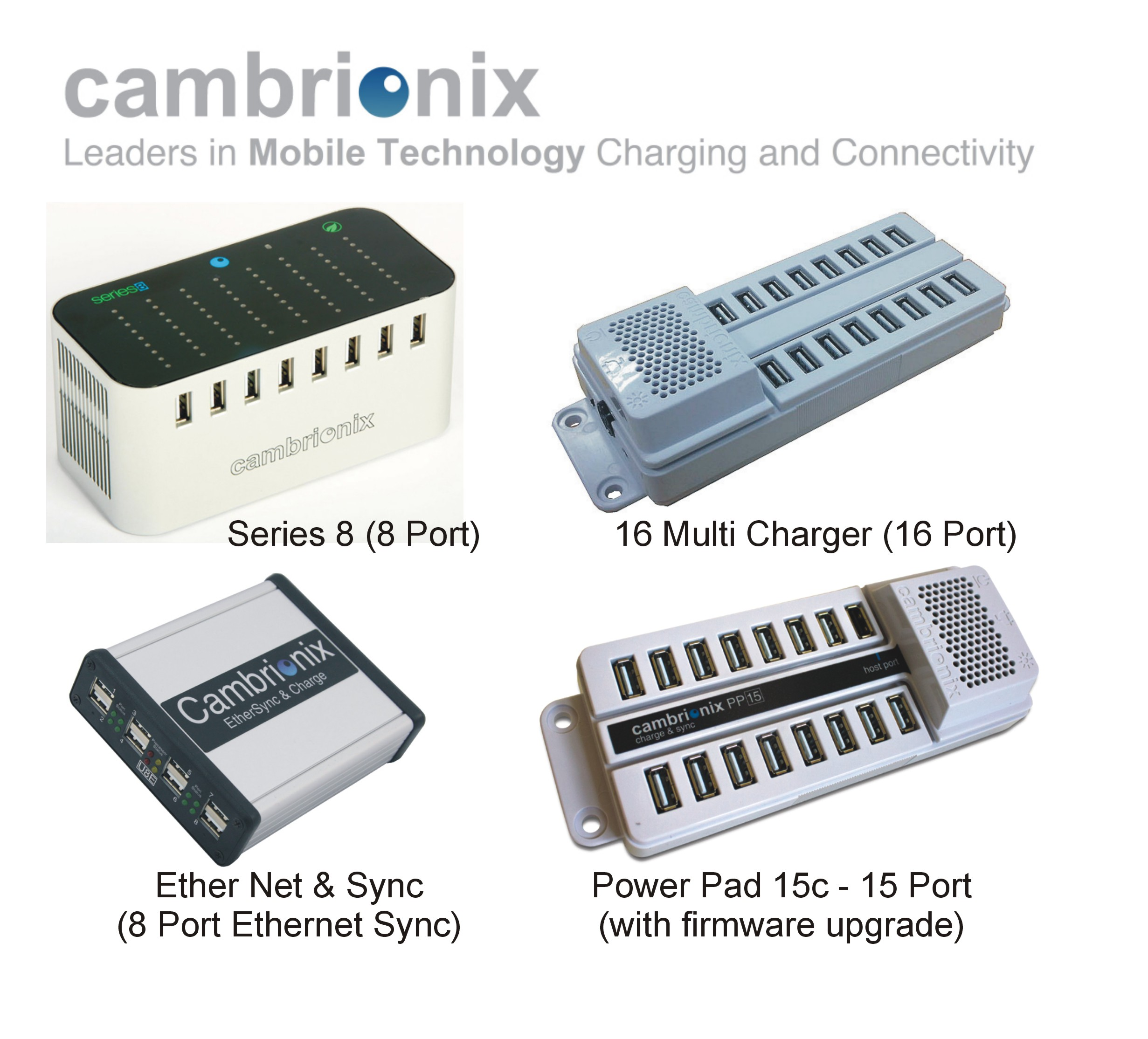 Cambrionix 4 Graphic