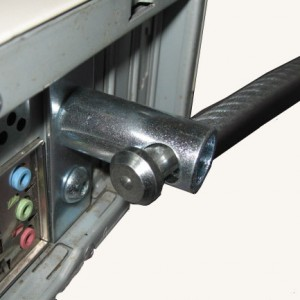Half Slot rear Cable close  by POS-Security.net